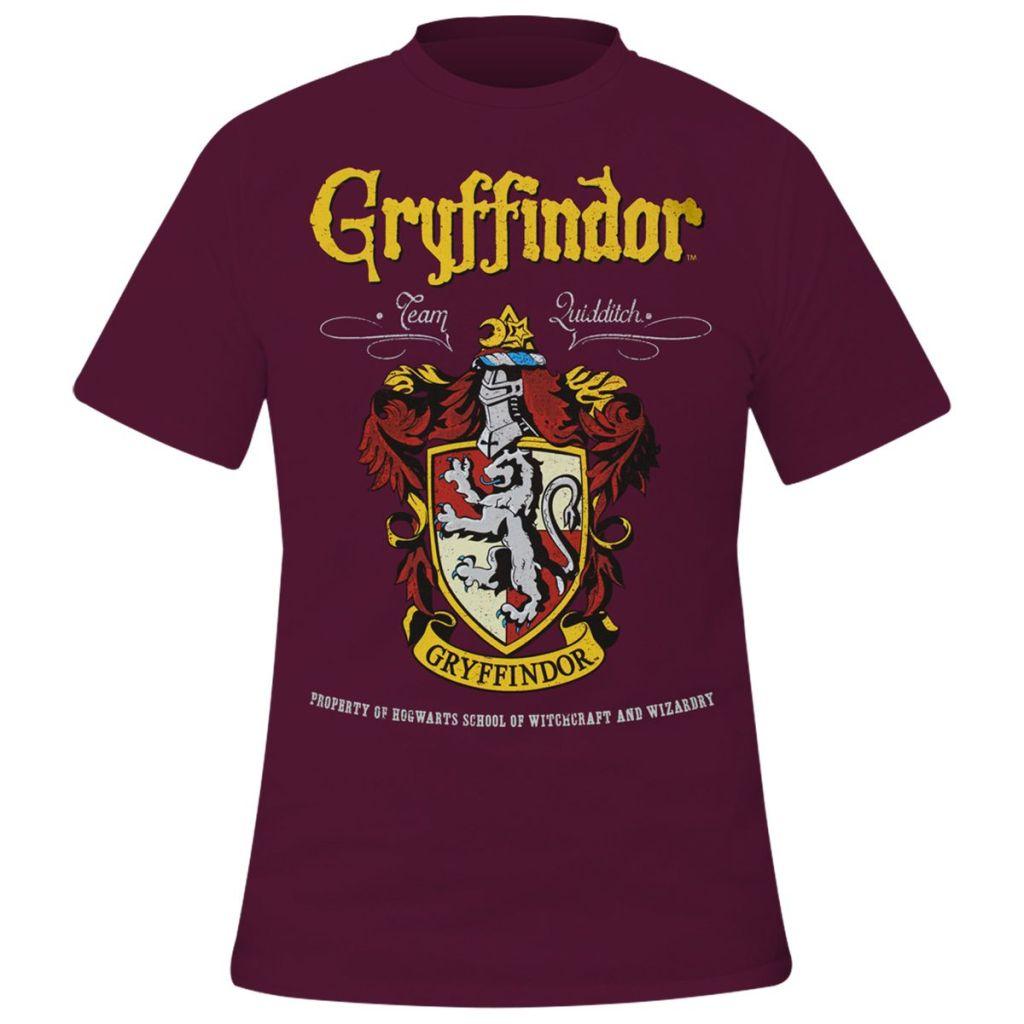 tee shirt gryffindor Harry Potter Rockagogo.com